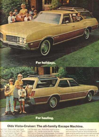 General Motor's Oldsmobile Cutlass (1969)