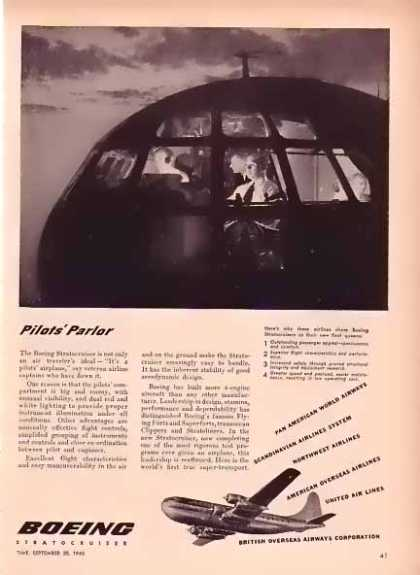 Boeing Aircraft – Pilots' Parlor (1948)