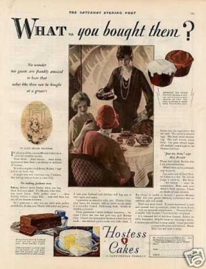 Hostess Cakes (1928)