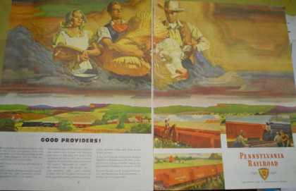 Pennsylvania Railroad Good Providers Farm theme (1946)