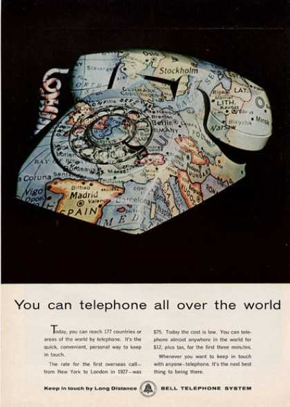 Bell Telephone All Over the World... (1964)