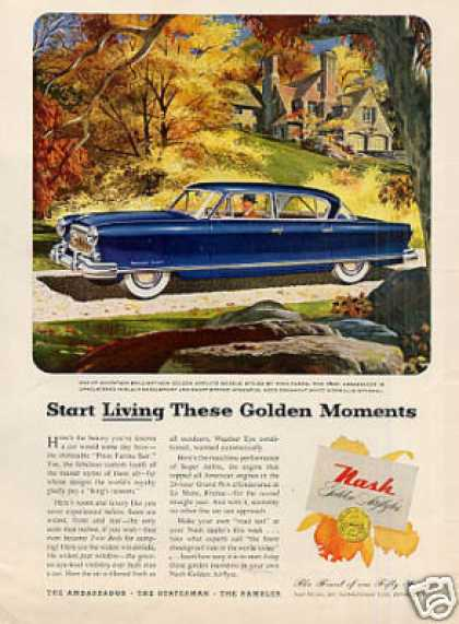 Nash Golden Airflyte Car (1952)