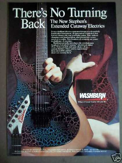 Stephen's Extended Cutaway Guitar By Washburn (1988)
