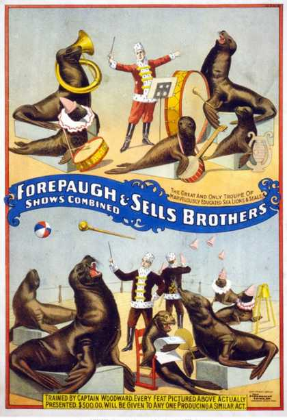 Forepaugh & Sells Brothers Seals