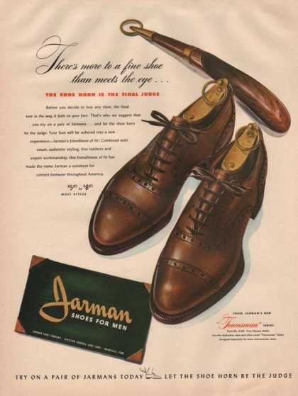Jarman Townsman Shoes for Men (1942)