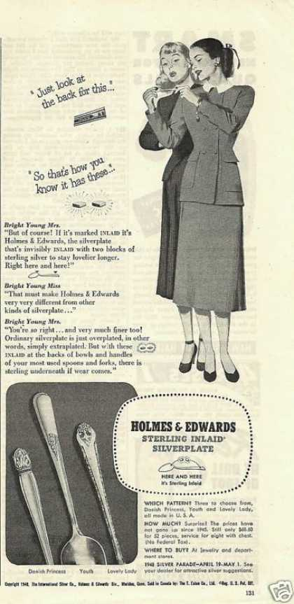 Holmes & Edwards Sterling Silverware (1948)