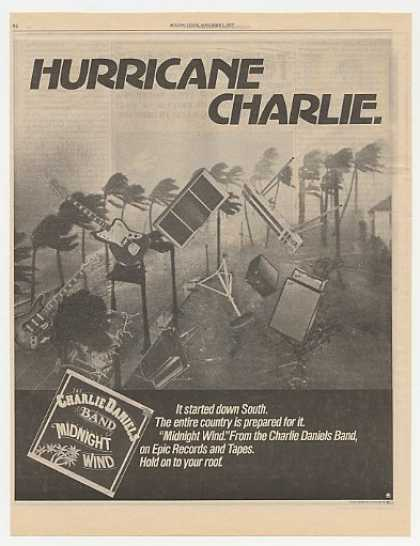 Charlie Daniels Band Midnight Wind Album Promo (1977)