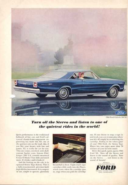 Ford Galaxie 500 Xl Print (1966)