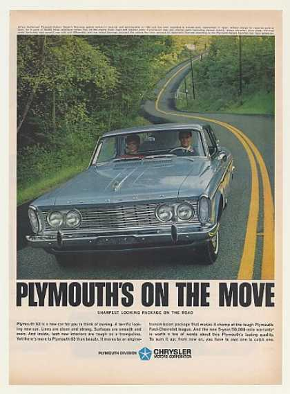 Plymouth Sharpest Looking Package on the Road (1963)