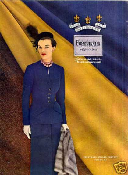 Forstmann Ladies Fashion (1949)