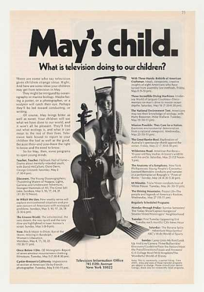 May's Child Boy TV Schedule Television Info (1970)