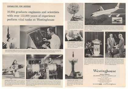 '59 Westinghouse Defense Missile Aircraft Nuclear 2P (1959)