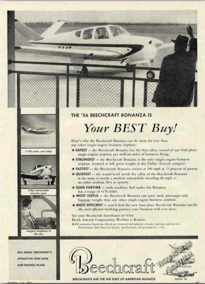 Beechcraft Bonanza Airplane Photos (1956)
