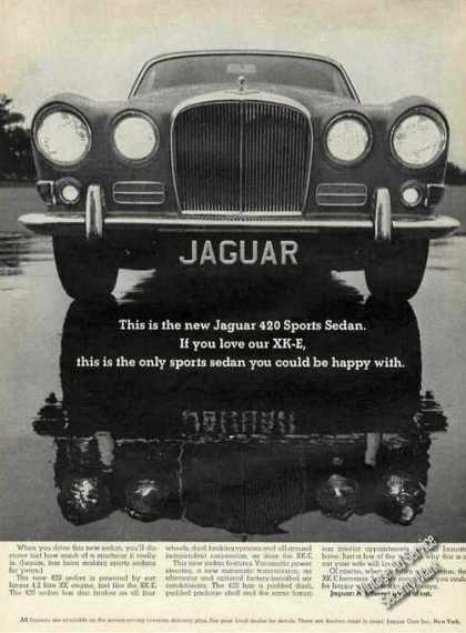 "Jaguar 420 Sports Sedan ""If You Love Our Xk-e"" (1967)"