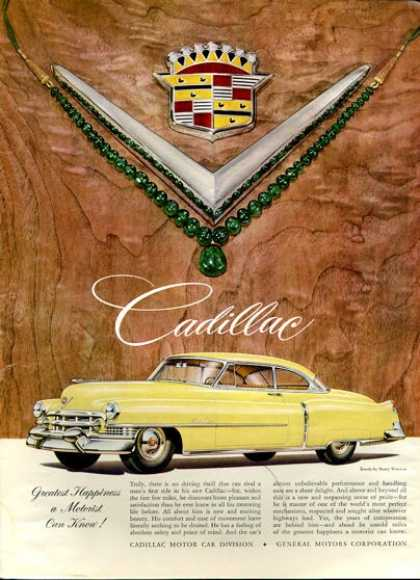 Cadillac 2 Door Winston Emerald Twa Fishing (1951)
