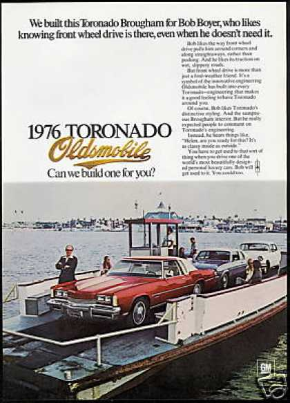 Oldsmobile Toronado Brougham Vintage Photo (1976)