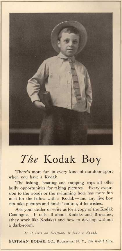 Kodak – The Kodak Boy (1914)