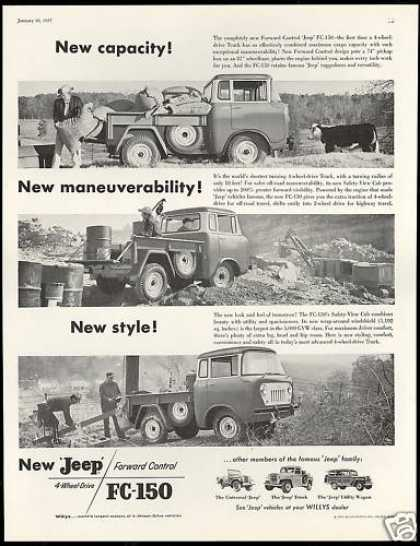 Jeep 4 Wheel Drive FC-150 Truck 3 Photo (1957)