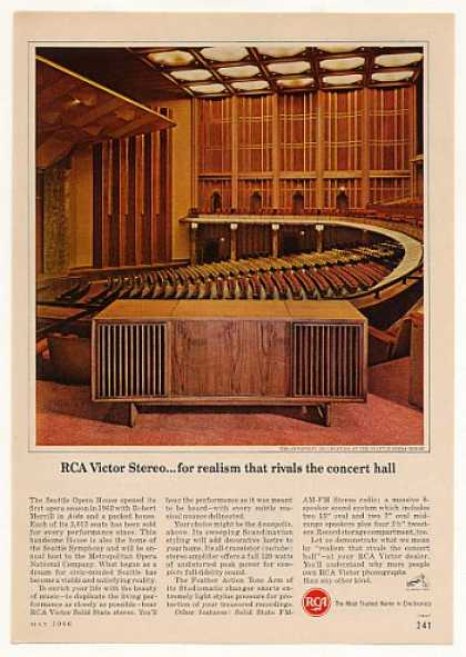 RCA Victor Annapolis Stereo Seattle Opera House (1966)