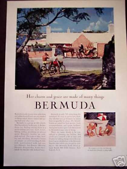 Bermuda Travel Vacation Photo (1956)