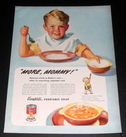 Campbell's Soup, More Mommy (1945)