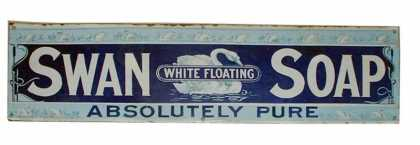 Swan Soap &#8211; Strip Sign