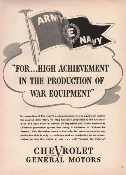 Chevrolet War Equipment (1942)