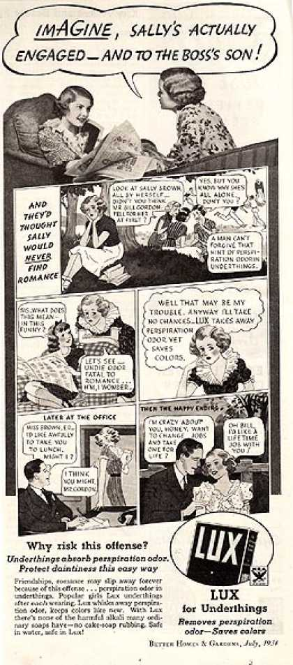 Lux's Laundry Soap (1934)