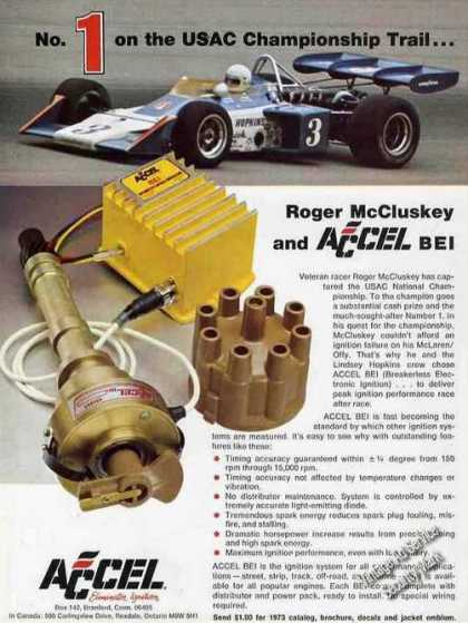 Roger Mccluskey Usac National Champion Accel (1974)