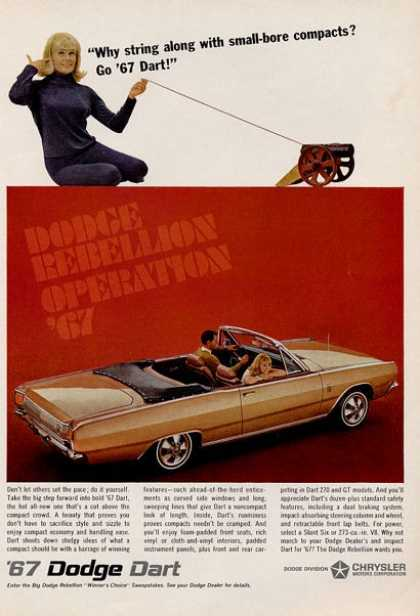 Dodge Dart Gt Convertible (1967)