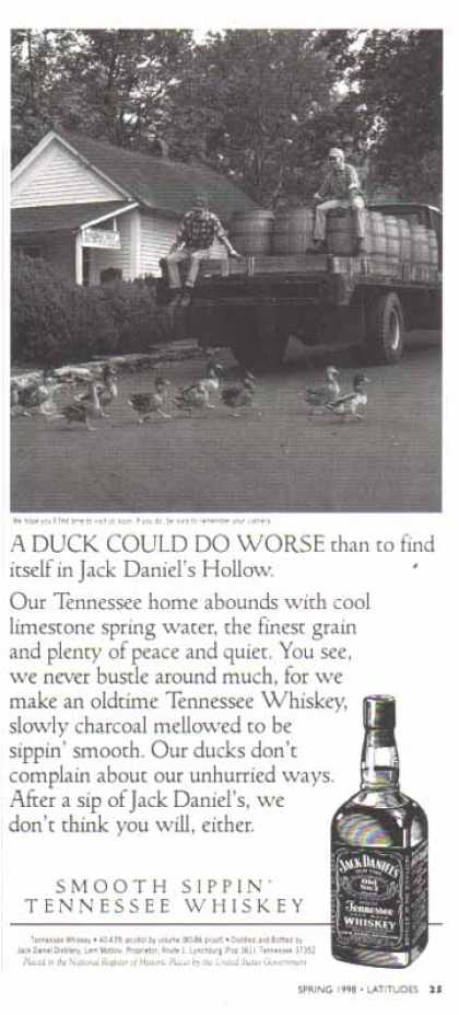 Jack Daniel's – A Duck Could Do Worse (1998)