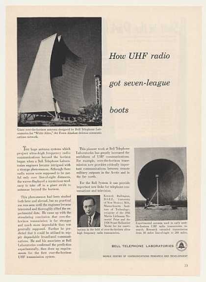 Bell UHF Radio White Alice Air Force Alaska (1957)