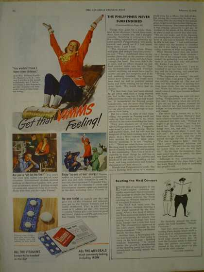 VMMS Vitamins Get that VMS Feeling (1945)
