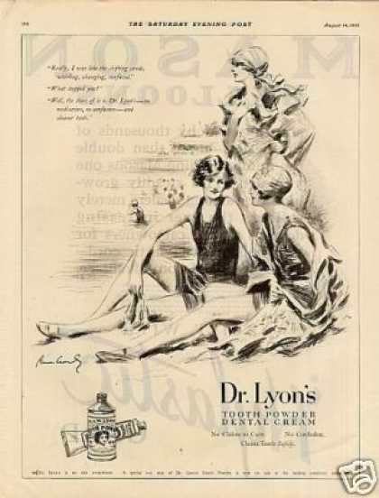 Dr. Lyon's Tooth Powder (1926)
