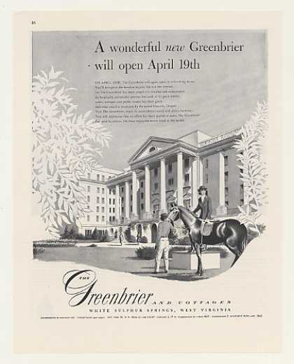 The Greenbrier Resort Hotel Open April (1948)