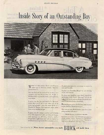 "Buick Car Ad ""Inside Story Of... (1952)"