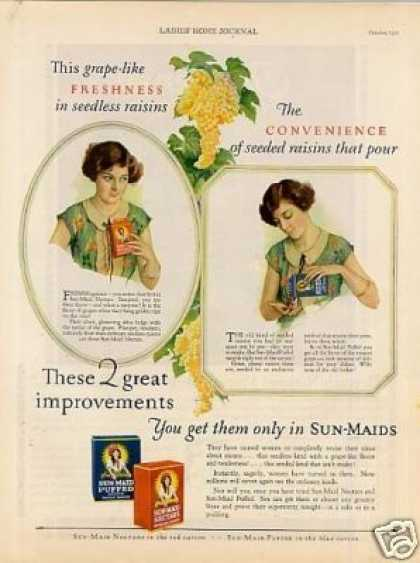 Sun-maid Raisins (1927)