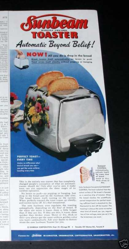 Sunbeam Radiant Toaster Wow (1950)