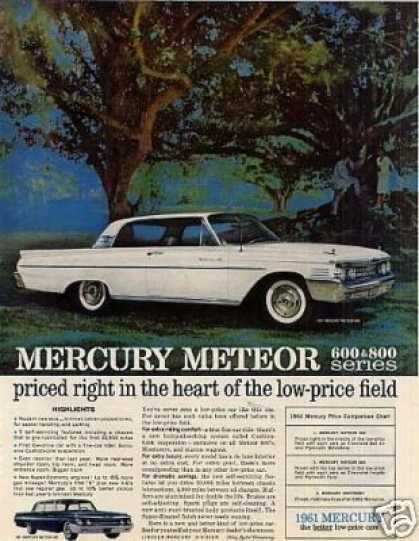 Mercury Meteor 800 Car (1961)
