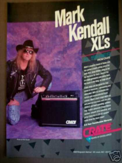 Mark Kendall Photo Crate Xl Guitar Amp (1989)
