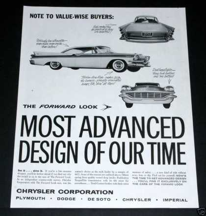 Chrysler, Most Advanced (1957)