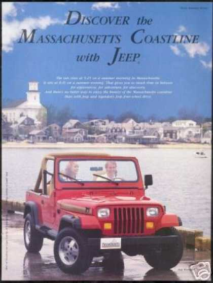 Jeep Wrangler Massachusetts Cape Cod Photo (1988)
