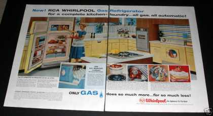 Rca Whirlpool Gas Appliances (1959)