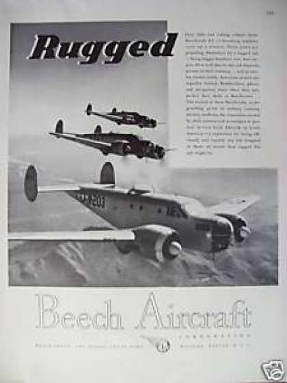 Beech Aircraft Rugged Planes (1944)