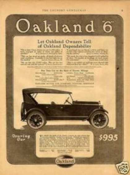 Oakland Six Touring Car (1923)