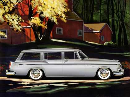 Chrysler Windsor Deluxe Town & Country Larry Baranovic (1955)