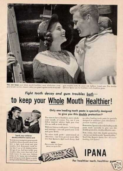 Ipana Tooth Paste (1951)