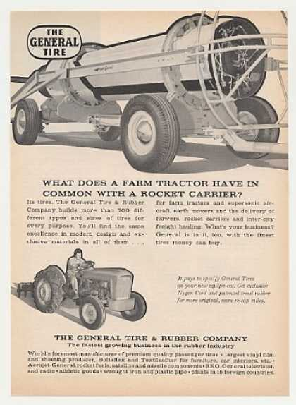 General Tire Rocket Carrier Farm Tractor (1961)