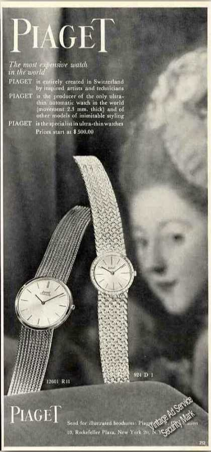 "Piaget ""The Most Expensive Watch In the World"" (1962)"