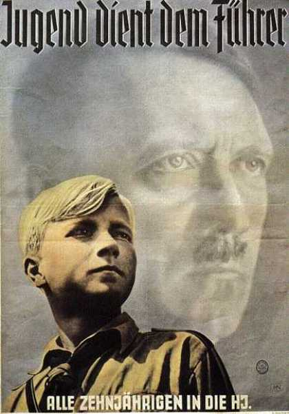 Hitler Youth Poster